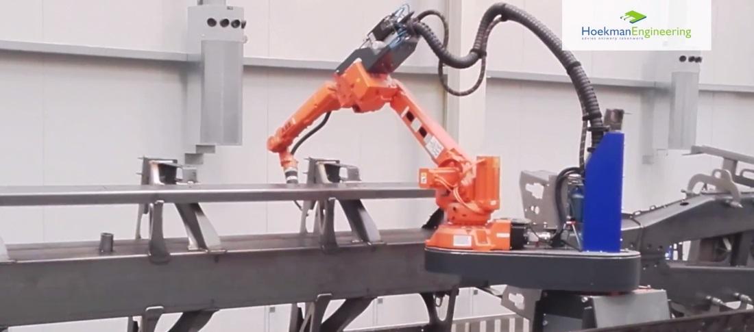 Lasrobot Fabriek RobWelding