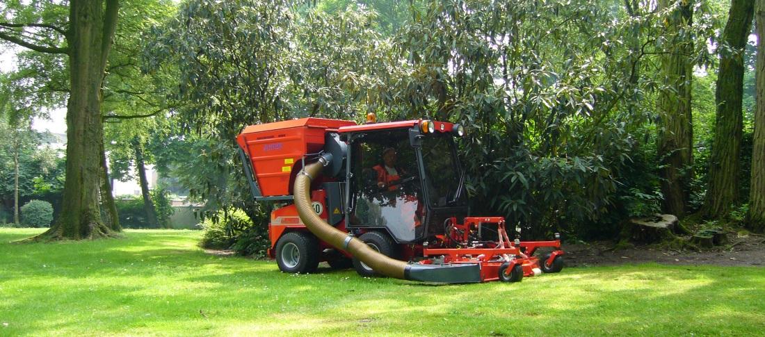 nimos werktuigdrager grasmaaier