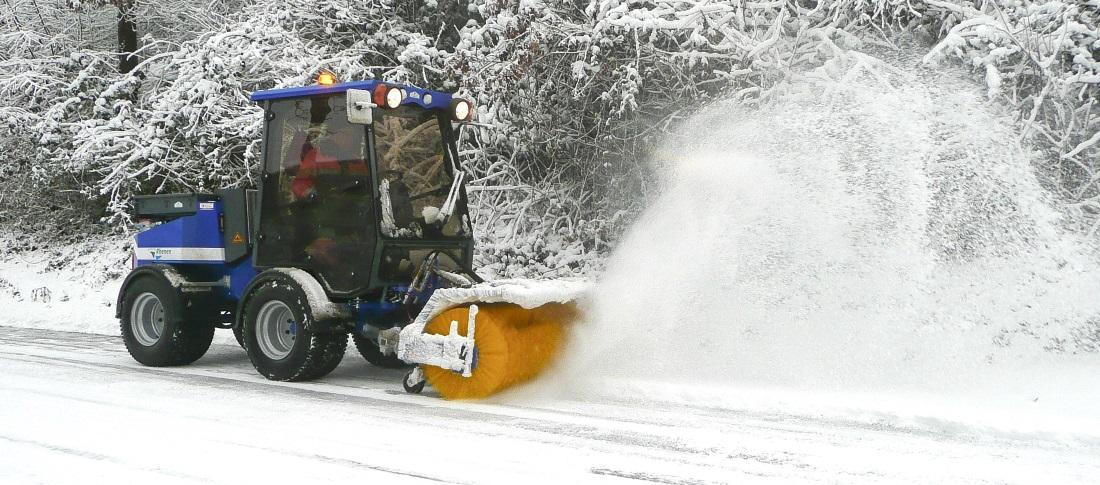 nimos werktuigdrager sneeuwbezem